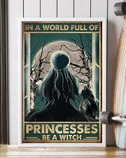 In a world full of princesses be e witch 11x17 Poster lifestyle-poster-4