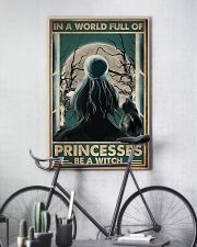 In a world full of princesses be e witch 11x17 Poster lifestyle-poster-7