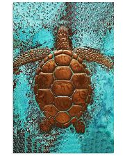 Sea Turtle Cu 11x17 Poster front