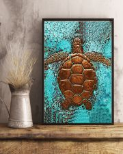 Sea Turtle Cu 11x17 Poster lifestyle-poster-3