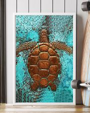 Sea Turtle Cu 11x17 Poster lifestyle-poster-4