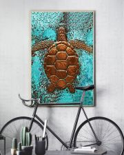 Sea Turtle Cu 11x17 Poster lifestyle-poster-7