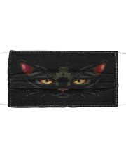 Black Cat 1002 Cloth face mask front