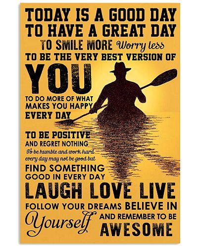Poster Kayaking