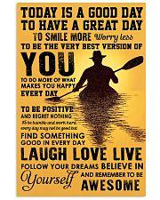 Poster Kayaking 11x17 Poster front