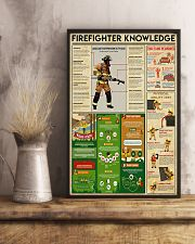 Firefighter Knowledge 11x17 Poster lifestyle-poster-3