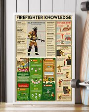 Firefighter Knowledge 11x17 Poster lifestyle-poster-4