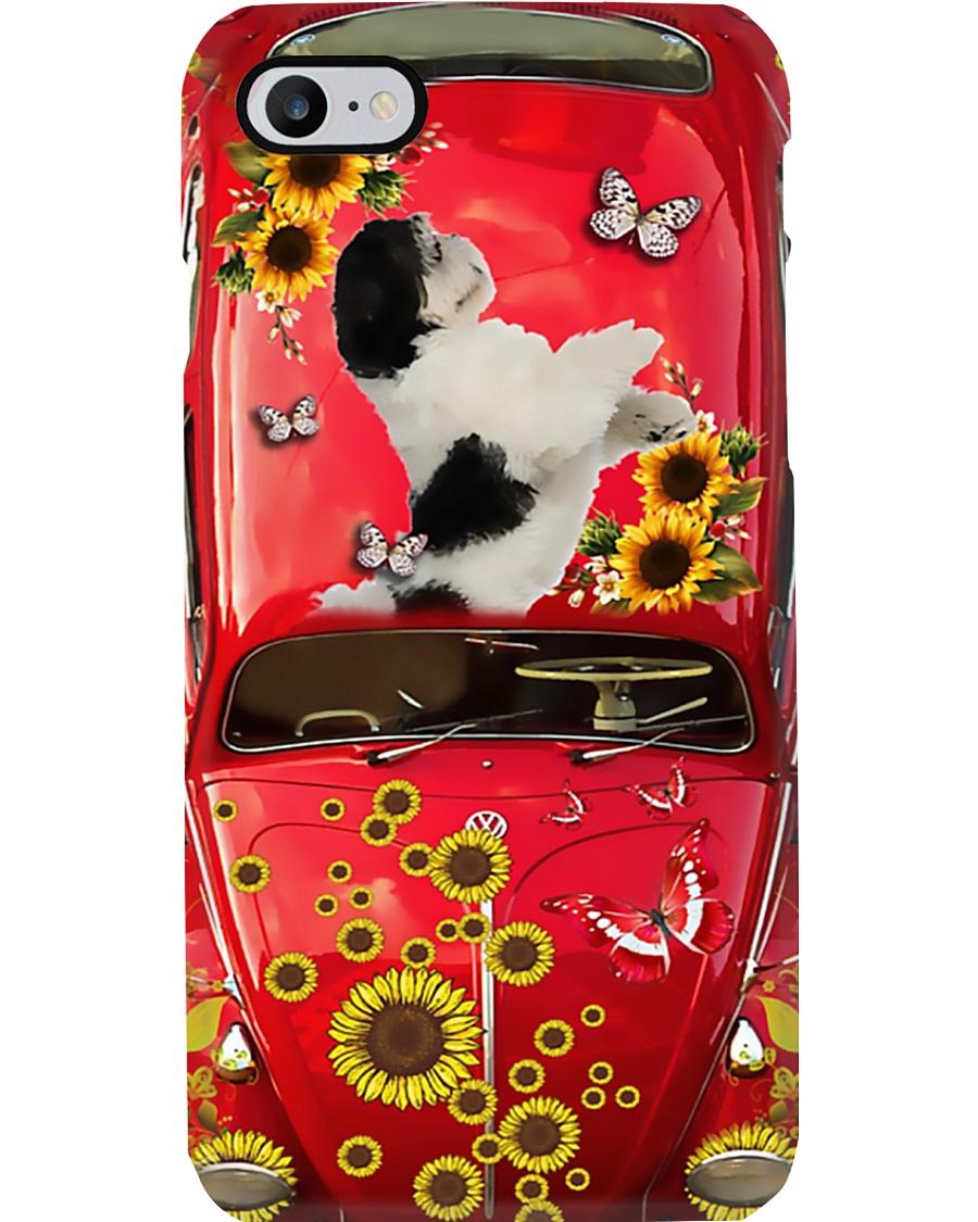 Phone Case - Shih Tzu Sunflower  Phone Case