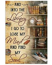 Library poster 11x17 Poster front