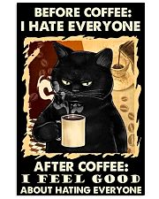 BEFORE COFFEE AFTER COFFEE 11x17 Poster front