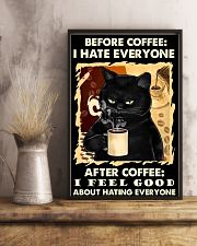 BEFORE COFFEE AFTER COFFEE 11x17 Poster lifestyle-poster-3