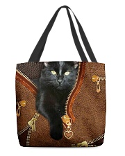 Black Cat All-Over Tote All-over Tote back
