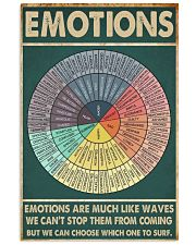 EMOTIONS 11x17 Poster front