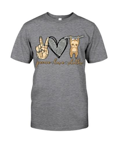 Peace love sloths