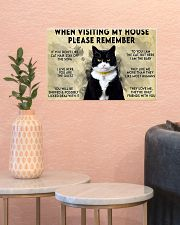 when visiting my house please remember 17x11 Poster poster-landscape-17x11-lifestyle-21