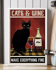 Cats Wine 11x17 Poster lifestyle-poster-4