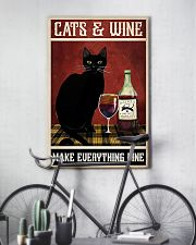 Cats Wine 11x17 Poster lifestyle-poster-7