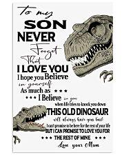 Dinosaurs Poster 1 Vertical Poster tile
