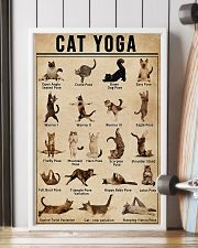 CAT YOGA 11x17 Poster lifestyle-poster-4
