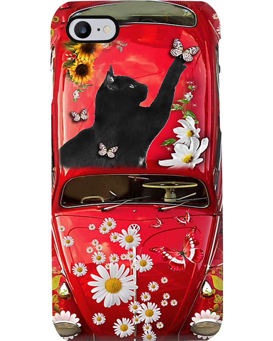 Phone Case - Cat Sunflower4 Phone Case