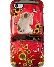 Phone Case - American Bulldog Sunflower Phone Case i-phone-7-case