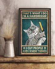 THAT'S WHAT I DO I'M A HAIRDRESSER 11x17 Poster lifestyle-poster-3