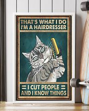 THAT'S WHAT I DO I'M A HAIRDRESSER 11x17 Poster lifestyle-poster-4