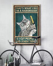 THAT'S WHAT I DO I'M A HAIRDRESSER 11x17 Poster lifestyle-poster-7