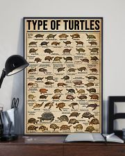 TYPE OF TURTLE 11x17 Poster lifestyle-poster-2