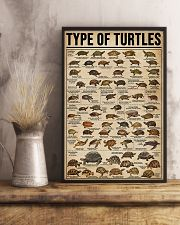 TYPE OF TURTLE 11x17 Poster lifestyle-poster-3