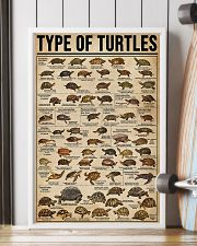 TYPE OF TURTLE 11x17 Poster lifestyle-poster-4