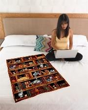 "Cats Books Blanket Small Fleece Blanket - 30"" x 40"" aos-coral-fleece-blanket-30x40-lifestyle-front-11"