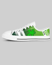 AUTISM LOW TOP SHOES Women's Low Top White Shoes aos-women-low-top-shoes-ghosted-white-outside-left-01