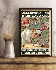 Once upon a time there was a girl 11x17 Poster lifestyle-poster-3