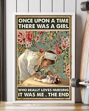 Once upon a time there was a girl 11x17 Poster lifestyle-poster-4