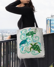Turtle lady 7 All-Over Tote All-over Tote aos-all-over-tote-lifestyle-front-05