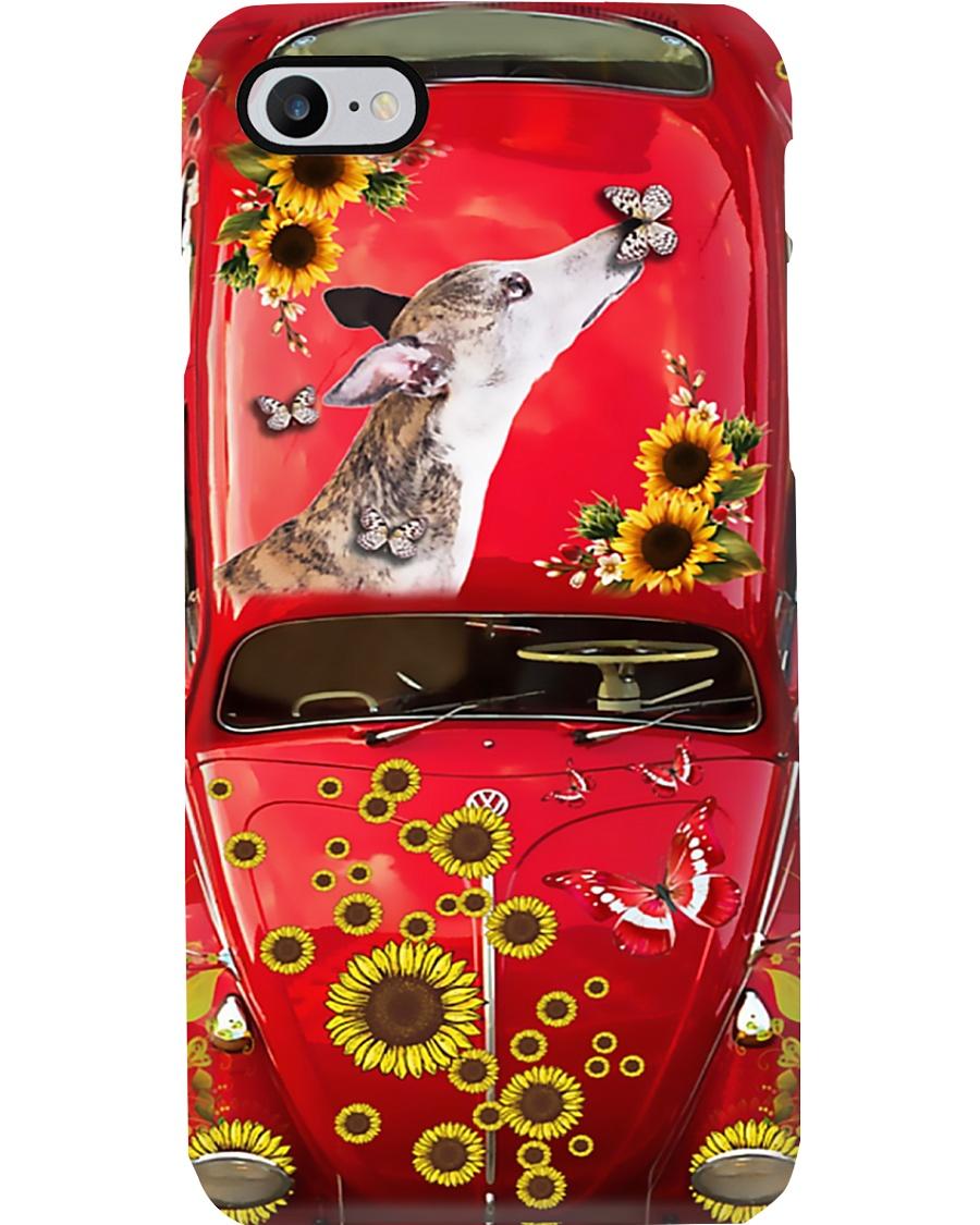 Phone Case - Greyhound Sunflower Phone Case
