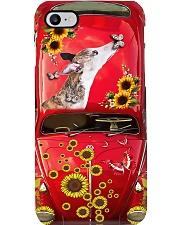 Phone Case - Greyhound Sunflower Phone Case i-phone-7-case