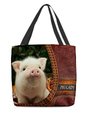 Pig lady All-Over Tote All-over Tote back