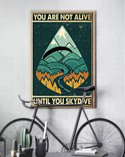 You are not alive 11x17 Poster lifestyle-poster-7