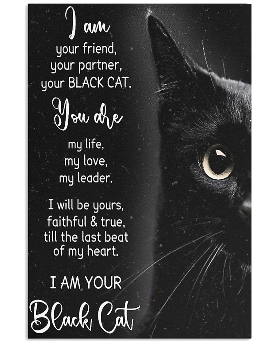 I am Black Cat 11x17 Poster