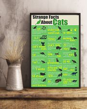 Strange Facts About Cats 11x17 Poster lifestyle-poster-3