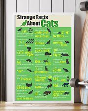 Strange Facts About Cats 11x17 Poster lifestyle-poster-4