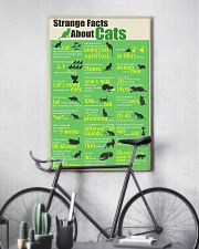 Strange Facts About Cats 11x17 Poster lifestyle-poster-7