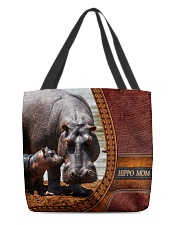Hippo mom All-Over Tote All-over Tote back