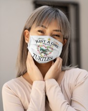 just a girl who love turtles Cloth face mask aos-face-mask-lifestyle-17