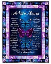 """As In Heaven Small Fleece Blanket - 30"""" x 40"""" front"""