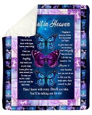 As In Heaven Sherpa Fleece Blanket tile