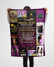 """To Out Daughter  Small Fleece Blanket - 30"""" x 40"""" aos-coral-fleece-blanket-30x40-lifestyle-front-14"""