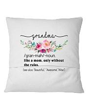 Grandma - Cool Define Square Pillowcase back